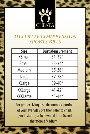 3a83c127a ... want the Cheata Lock Down compression bra or Cheata Step-In compression  bra. All styles are so stable and comfortable